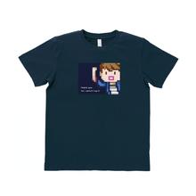 はじめしゃちょー エンディングver. Tシャツ(ネイビー)【12月下旬〜順次出荷】