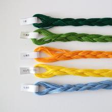 カロチャ刺繍糸No.1~5  バラ売り