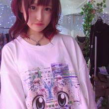 アニメグリッチBIGTシャツ/pauline marx