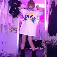 エイリアンキメラフードBIGTシャツ/新世界×alien moshimoshi??