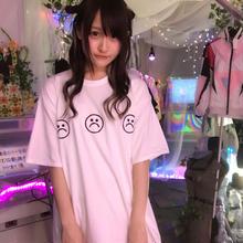 sadマーク3連BIGTシャツ/NETDREAMTHINKS