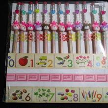 くまさんデコ鉛筆10本セット