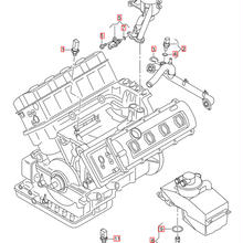 Audi 純正 R8(42)  エンジンオイルレベル&テンパラチャーセンサー