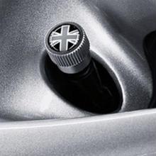 BMW MINI 純正 エアバルブキャップ ブラックジャック
