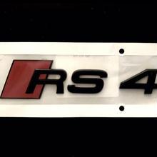 Audi 純正 RS4 (8W B9) グロスブラックエンブレム
