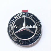 Mercedes-Benz  純正 ブラックローレルリース ボンネットエンブレム W447 W463