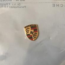 Porsche 911 996 純正 キーヘッド用 カラークレスト ミニエンブレム