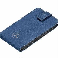日本未発売 ドイツ Mercedes-Benz 純正 スマートフォンケース デニム
