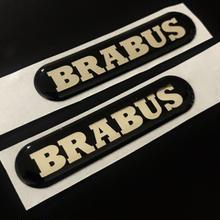 smart BRABUS 純正品 サイドエンブレムセット C453 A453