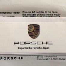 Porsche Japan ステッカー