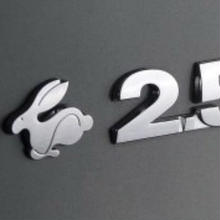 US VW 純正 Rabbit 2.5 リアエンブレム ゴルフ5