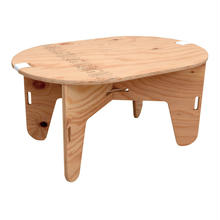 OVAL TABLE  無塗装