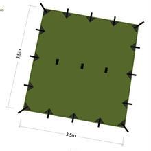 DD Tarp タープ 3.5 x 3.5