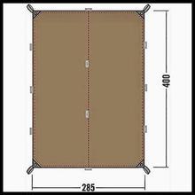TATONKA タトンカ Tarp タープ 4 Simple シンプル