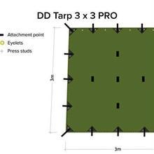 DD タープ Tarp 3x3 - PRO プロ