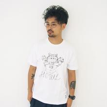 T-shirt - HOWL -  White
