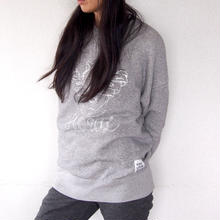 Sweat Crew Neck - HOWL -  Heather Gray