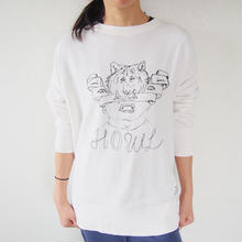 Sweat Crew Neck - HOWL -  Vanilla White