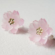 Cerise Cheeks/桜のノンホールピアス