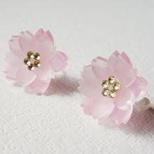 Cerise Cheeks/桜のイヤリング
