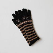 mix pattern knit groves