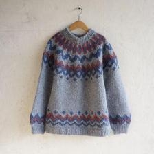 Vintage nordic knit F