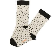 tinycottons folk elements socks(beige/black)