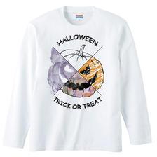 [ロングスリーブTシャツ] Halloween pumpkin