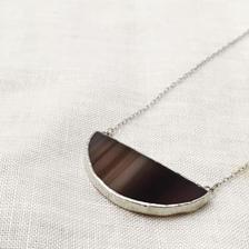 Semi Circle  Necklace -S-