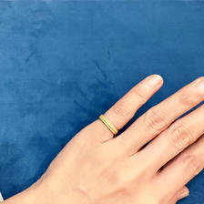Lace brade ring (gold) / 12号