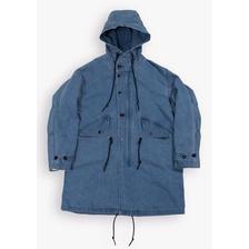 BLUEY DENIM MODS COAT BLUE/SAX