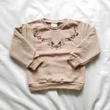 韓国子供服 ✭ 刺繍トレーナー ✭