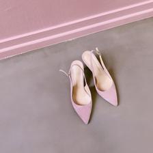 Nine slingback heel