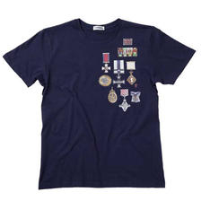 【SALE】 Pete's Medal Tee - Navy