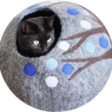 Eco Kitty Cave(猫の洞窟)ーTrue Blue