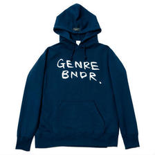 GENRE BNDR Hoodie / NVY - NVY29553WH