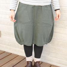 A/line バルーンスカート