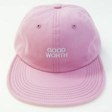 GOOD WORTH /   BASICLOGO STRAPBACK SALMON グッドワース キャップ