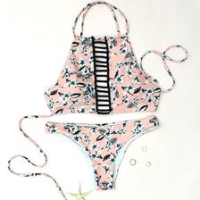 Flower Bikini (Pink)