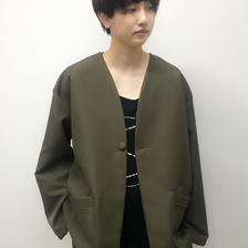 SHUTTLE  /WIDE JACKET /green