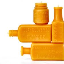 【SALE】New York Bottles 蜜蝋キャンドルギフトセット