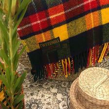 TWEED MILL / traditional tartan throw