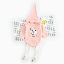 (即納♡)(kids☆)バーパパパピンクロンパース&タイツ&帽子セット
