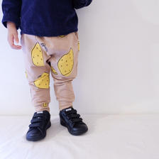 (kids♡)(即納♡)レモン柄サルエルパンツ