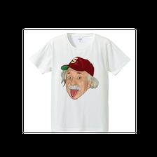 アルベルト・アインシュタイン・アウトドア(4.7oz T-shirt)