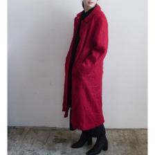 mohair long coat