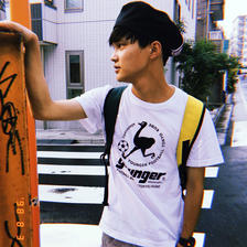 フロッキーロゴTシャツ/YRT620