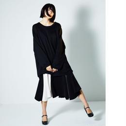 奏 drape skirt/4color
