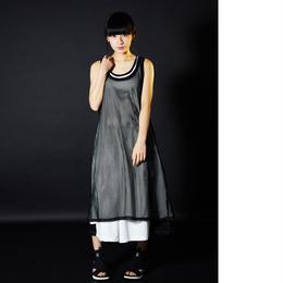 0658 long dress  tanktop/2color