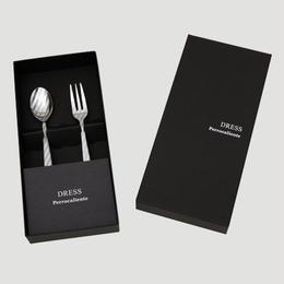 DRESS TeaSpoon&TeaFork 10pcs.Set Silver【ティースプーン&ティーフォーク10本セット シルバー】